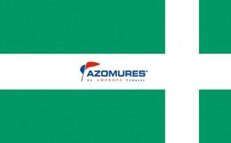 Steag prim ajutor + sigla Azomures