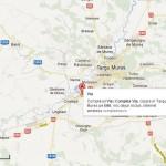 Harta Tg Mures -cazare la Complex Via