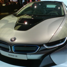 Noul BMW i8 poze aeroport Munchen 3