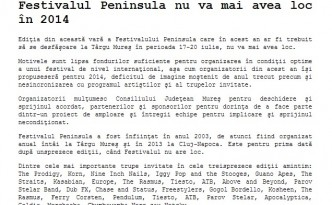 Peninsula 2014 afis