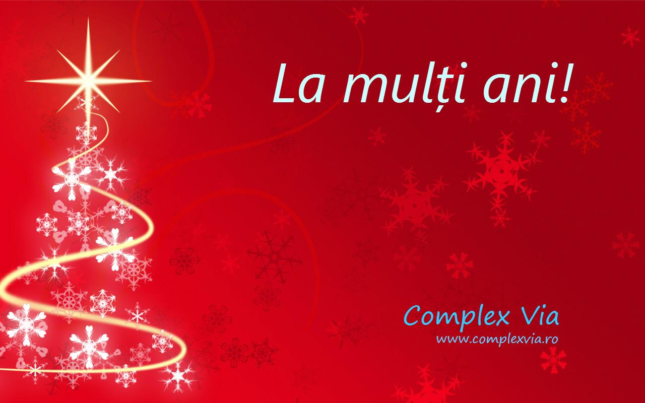 Felicitare La multi ani!  www.complexvia.ro