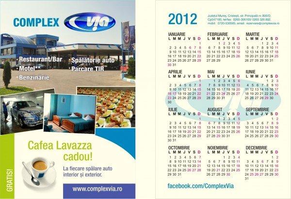 Sarbatori fericite calendar via 2012