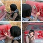 Spalatorie auto Targu Mures: alternativa la desene in praful de pe masina 2