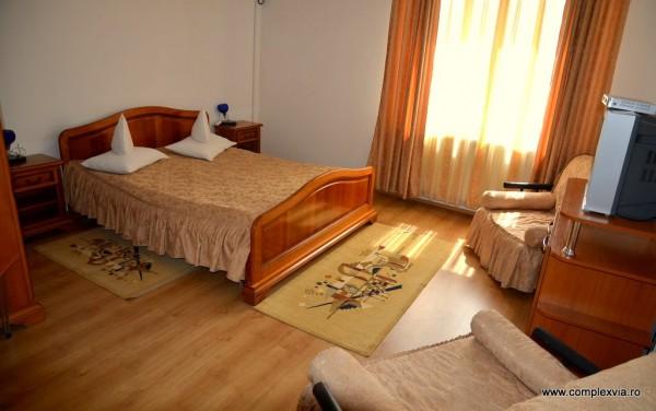 Camera la Hotel Via din Complex Via la intrarea in Targu Mures