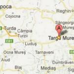 harta cazare Cluj Napoca-Targu Mures-Sighisoara