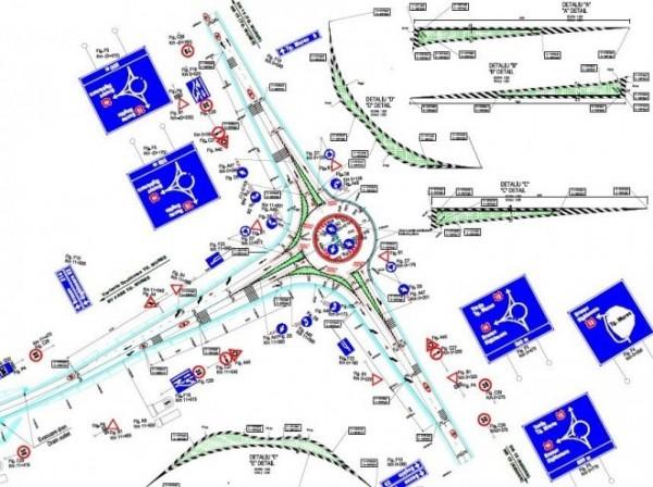 nod de autostrada Tirgu Mures
