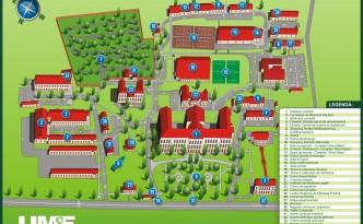 Harta UMF Targu Mures