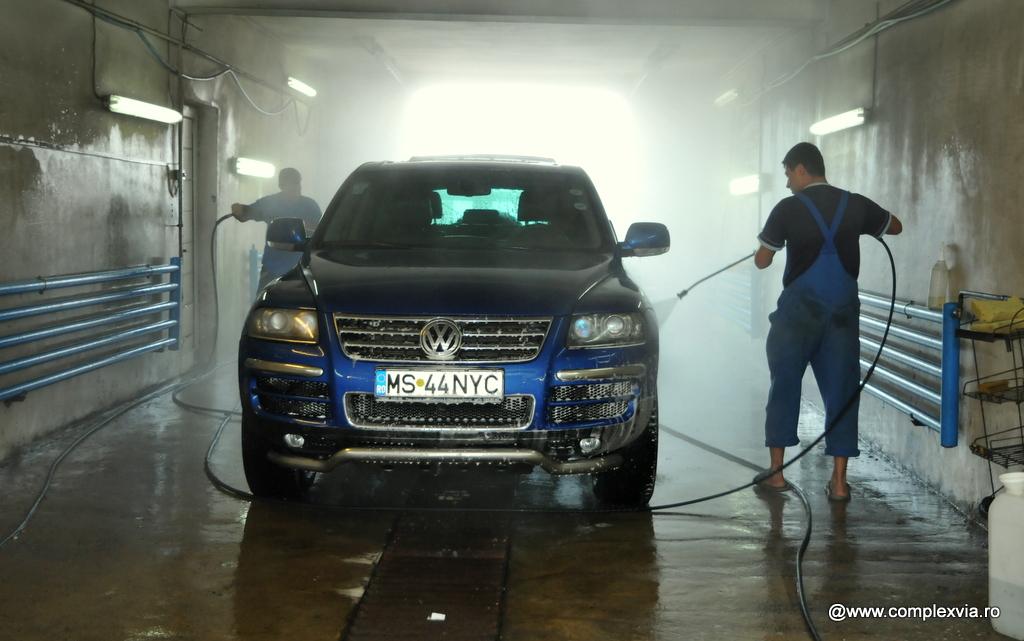 Spalatorie auto profesionala Via din Targu Mures