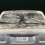 Spalatorie auto Targu Mures: alternativa la desene in praful de pe masina