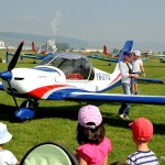 Intre copii la un eveniment aviatic la Targu Mures, Complex Hotelier si de turism Via e la inaltime