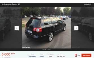 VW Passat second hand